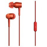 SONY Monitor In Ear Headphones [MDR-EX750AP] - Cinnabar Red - Earphone Ear Monitor / Iem