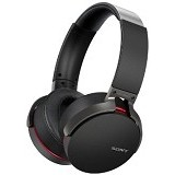 SONY Extra Bass Bluetooth Headphone [MDR-XB950BT] - Black - Headset Bluetooth