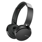 SONY Extra Bass Headphone Wireless [MDR-XB650BT] - Black (Merchant) - Headset Bluetooth