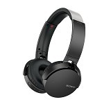 SONY Extra Bass Headphone Wireless [MDR-XB650BT] - Black - Headset Bluetooth