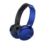 SONY Extra Bass Headphone Wireless [MDR-XB650BT] - Blue - Headset Bluetooth