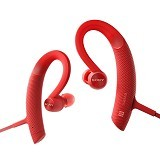 SONY Extra Bass Sports Bluetooth Headphones [MDR-XB80BS] - Red (Merchant) - Headset Bluetooth