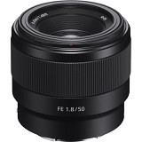 SONY FE 50mm f/1.8 Lens [SEL50F18F] (Merchant) - Camera Mirrorless Lens