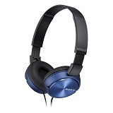 SONY Headphone [MDR-ZX310AP] - Blue - Headphone Full Size