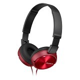SONY Headphone [MDR-ZX310AP] - Red - Headphone Full Size