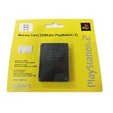 SONY Memory Card PS2 32 MB (Merchant) - Video Game Accessory