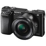 SONY Mirrorless Digital Camera Alpha a6000 - Black (Merchant) - Camera Mirrorless