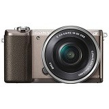 SONY Mirrorless Digital Camera Alpha A5100 [ILCE-5100L/WAP2] - Brown (Merchant) - Camera Mirrorless