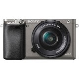 SONY Mirrorless Digital Camera Alpha A6000 - Graphite Grey - Camera Mirrorless