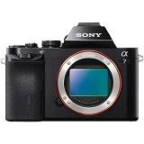 SONY Mirrorless Digital Camera Alpha a7 Body Only