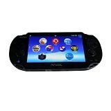 SONY PlayStation Vita Fat 1000 Memory 16gb Full Game - Black (Merchant) - Game Console