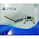 SONY PlayStation Slim 500GB [CUH-2006A] - Glacier White (Merchant) - Game Console