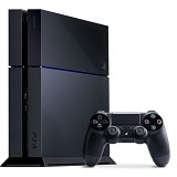 SONY PlayStation 4 500GB Jet - Black (Merchant) - Game Console