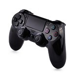 SONY Playstation 4 Controller Dual Shock 4 - Jet Black (Merchant) - Video Game Accessory