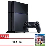 SONY Playstation 4 Fifa 16 - Black - Game Console