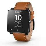 SONY Smartwatch SW2 Wrist Band SE20 - Light Brown Leather - Casing Smartwatch / Case