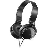 SONY Stereo H-Phone Extra Bass [MDR-XB250] - Black - Headphone Portable