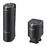 SONY Wireless Microphone for Cameras with Multi-interface Shoe [ECM-W1M] - Camera and Video Microphone