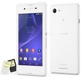 SONY Xperia E3 Dual - White - Smart Phone Android