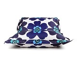 SOO SANTAI Big Mama Strap Beanbag - Flower Dark Blue White - Bantal Duduk / Bean Bag