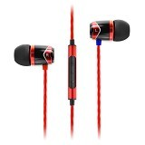 SOUNDMAGIC In Ear Sound Isolating Earphone [SM E10C] - Red - Earphone Ear Monitor / Iem