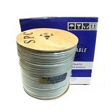 SPC Cable Coaxial RG 59 SPC 300m with Power (Merchant) - Network Cable Coaxial