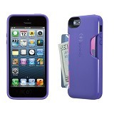SPECK SmartFlex Card Case Apple iPhone 5/5s - Grape - Casing Handphone / Case