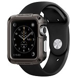 SPIGEN Case Smart Watch Apple 42mm Tough Armor [SGP11504] - Gunmetal (Merchant) - Casing Smartwatch / Case