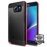 SPIGEN Galaxy Note 5 Case Neo Hybrid Carbon [SGP11691] - Dante Red - Casing Handphone / Case