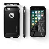 SPIGEN Rugged Armor Apple iPhone 7 Plus - Black (Merchant) - Casing Handphone / Case