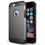"SPIGEN iPhone 6 (4.7"") Case Tough Armor Series [SGP11022] - Gunmetal - Casing Handphone / Case"