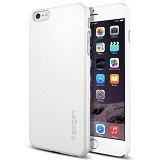 "SPIGEN iPhone 6 Plus (5.5"") Case Thin Fit [SGP11101] - Shimmery White - Casing Handphone / Case"