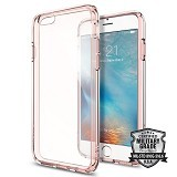 "SPIGEN iPhone 6S/6 (4.7"") Case Ultra Hybrid [SGP11722] - Rose Crystal - Casing Handphone / Case"