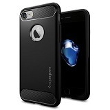 SPIGEN iPhone 7 Case Rugged Armor [042CS20441] - Black
