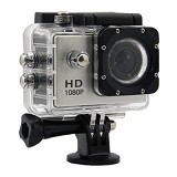SPORT Action Camera 1080p 12 MP - Silver (Merchant) - Camcorder / Handycam Flash Memory