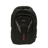 SPORTY Tas Ransel Laptop Cover [S-187] - Black Grey - Notebook Backpack