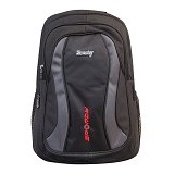 SPORTY Tas Ransel Sekolah [224a] - Grey (Merchant) - Tas Punggung Sport / Backpack