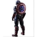 SQUARE ENIX Variant Play Arts Kai Captain America (Merchant) - Movie and Superheroes