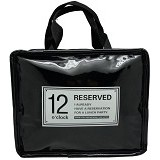 SSLAND Cooler Lunch Bag [697] - Black (V) - Cooler Box