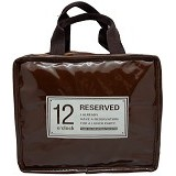 SSLAND Cooler Lunch Bag [697] - Dark Brown (V) - Cooler Box