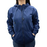 SSLAND Jaket Hoodie Wanita All Size - Dark Blue (V)