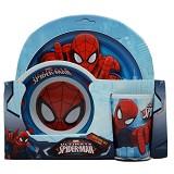 SSLAND Meal Time Set Spider (V) - Peralatan Makan Set