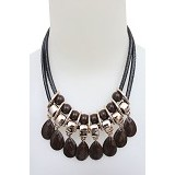 SSLAND Ruby Necklace [AG027] - Brown (V) - Kalung / Necklace