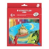 STAEDTLER Coloured Pencil Permanent Set Pensil Warna 136 C24 LUNA (Merchant) - Pensil Warna