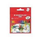 STAEDTLER LUNA Set Wax Crayon [12 pcs] (Merchant) - Pensil Warna
