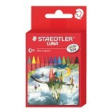 STAEDTLER LUNA Set Wax Crayon [24 pcs] (Merchant) - Pensil Warna