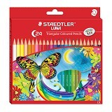 STAEDTLER Triangular Coloured Set Pensil Warna 138 C24 LUNA (Merchant) - Pensil Warna