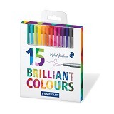STAEDTLER Triplus Fineliner 0,3 mm in Card Box Set [15 pcs] (Merchant) - Pen / Ballpoint