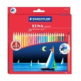 STAEDTLER Watercolour (Aquarell) Set Pensil Warna 137 C24 LUNA (merchant) - Pensil Warna