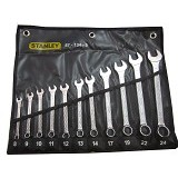 STANLEY Combination Wrench Set 11Pc [87-134-3] - Kunci Kombinasi